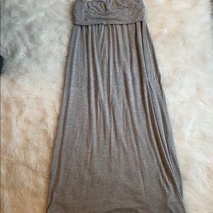Fold over Maxi Skirt- S